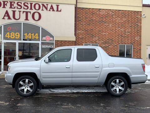 2014 Honda Ridgeline for sale at Professional Auto Sales & Service in Fort Wayne IN