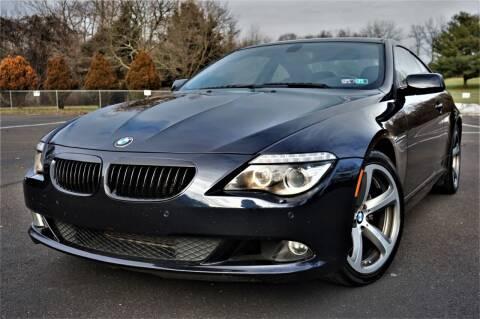 2009 BMW 6 Series for sale at Speedy Automotive in Philadelphia PA