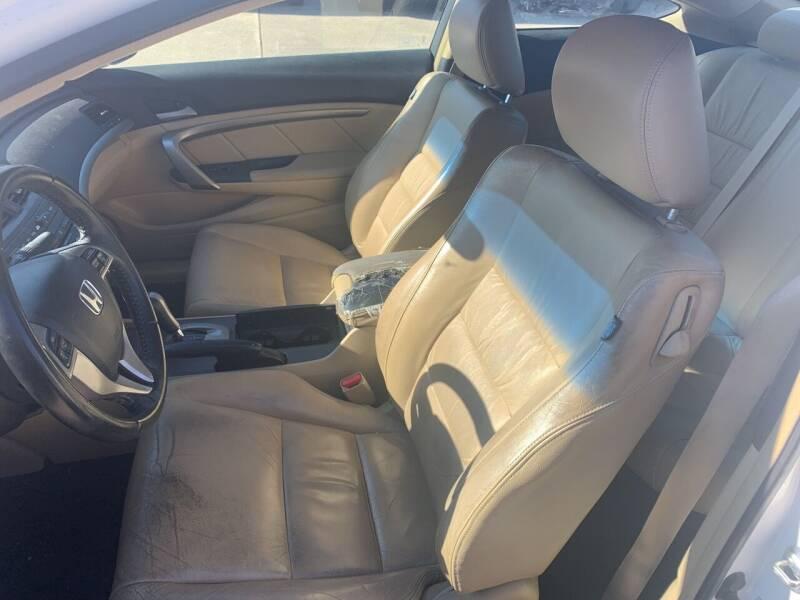 2009 Honda Accord EX-L V6 2dr Coupe 5A - Excelsior Springs MO