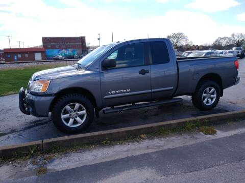 2014 Nissan Titan for sale at Big Boys Auto Sales in Russellville KY
