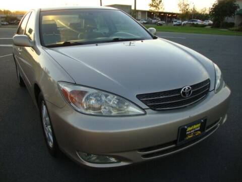 2003 Toyota Camry for sale at Shell Motors in Chantilly VA