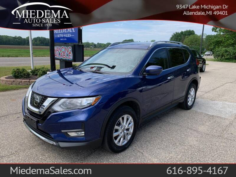2017 Nissan Rogue for sale at Miedema Auto Sales in Allendale MI