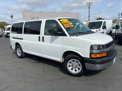 2010 Chevrolet Express Passenger for sale at Auto Wholesale Company in Santa Ana CA