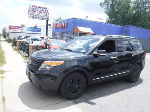 2013 Ford Explorer for sale at City Motors Auto Sale LLC in Redford MI