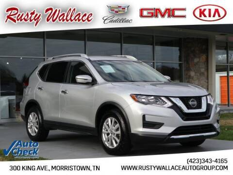 2018 Nissan Rogue for sale at RUSTY WALLACE CADILLAC GMC KIA in Morristown TN