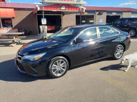 2017 Toyota Camry for sale at Rum River Auto Sales in Cambridge MN