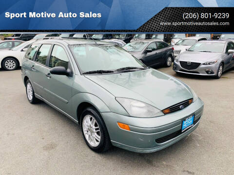 2003 Ford Focus for sale at Sport Motive Auto Sales in Seattle WA