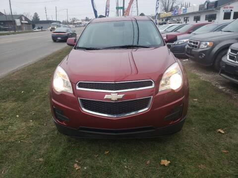 2012 Chevrolet Equinox for sale at Fansy Cars in Mount Morris MI
