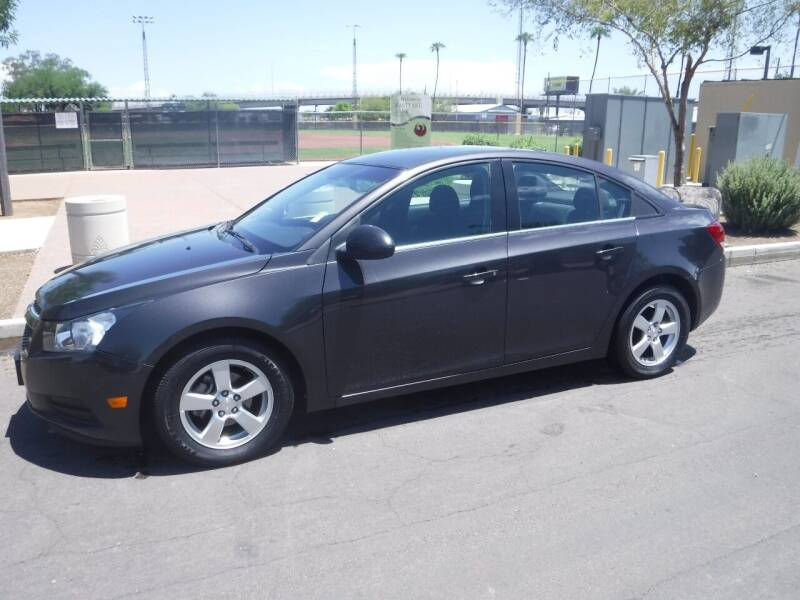 2014 Chevrolet Cruze for sale at J & E Auto Sales in Phoenix AZ