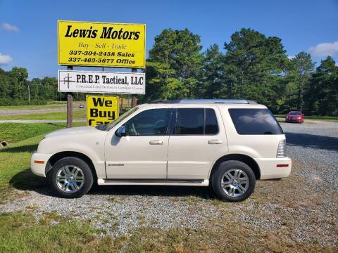 2009 Mercury Mountaineer for sale at Lewis Motors LLC in Deridder LA