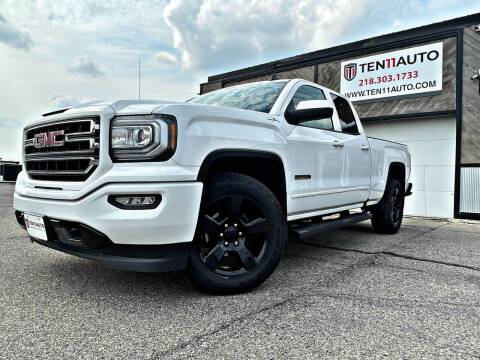 2017 GMC Sierra 1500 for sale at Ten 11 Auto LLC in Dilworth MN