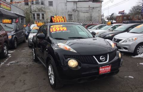 2012 Nissan JUKE for sale at Metro Auto Exchange 2 in Linden NJ