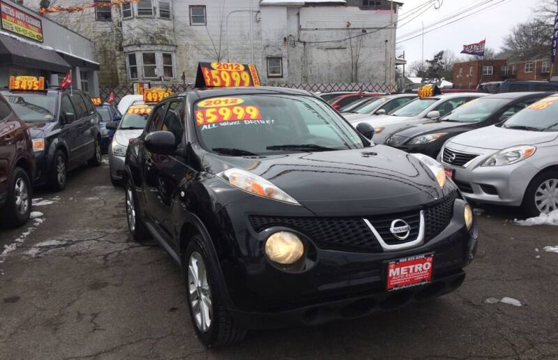 2012 Nissan JUKE for sale at Metro Auto Exchange 2 in Linden NJ