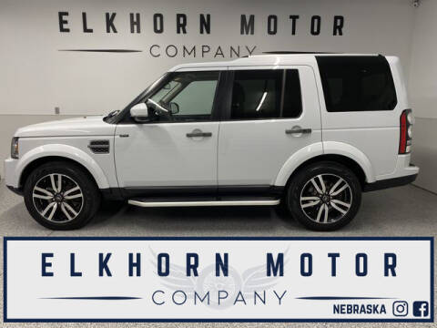 2016 Land Rover LR4 for sale at Elkhorn Motor Company in Waterloo NE