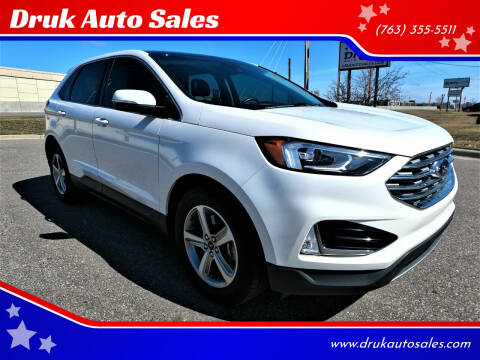 2019 Ford Edge for sale at Druk Auto Sales in Ramsey MN