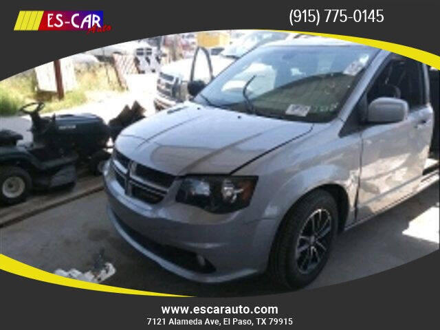 2019 Dodge Grand Caravan for sale at Escar Auto in El Paso TX