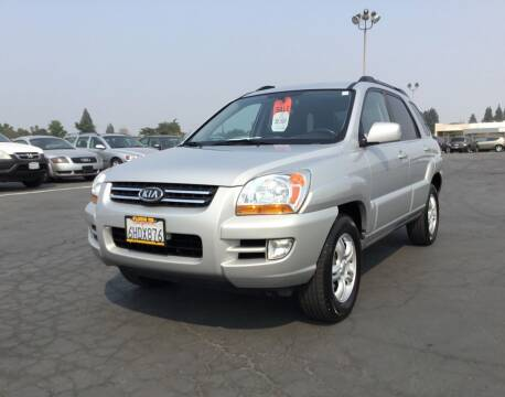 2008 Kia Sportage for sale at My Three Sons Auto Sales in Sacramento CA