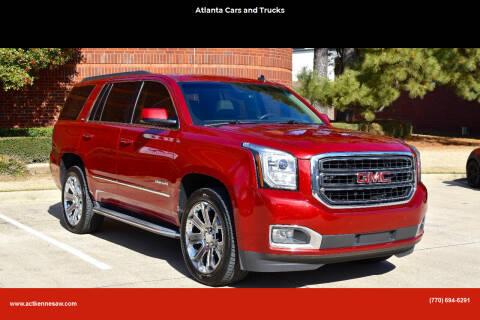2015 GMC Yukon for sale at Atlanta Cars and Trucks in Kennesaw GA