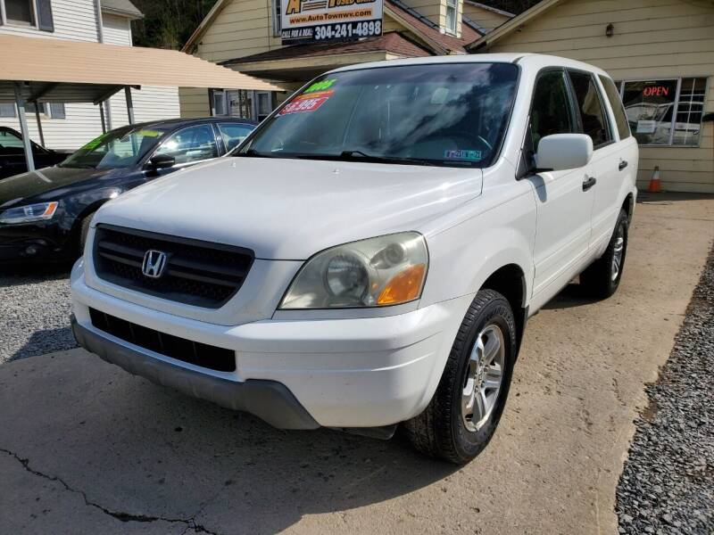 2005 Honda Pilot for sale at Auto Town Used Cars in Morgantown WV