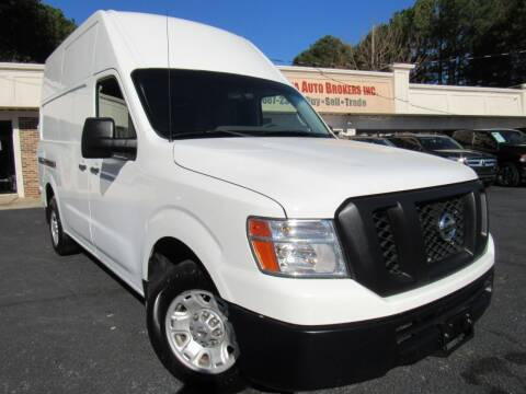 2013 Nissan NV Cargo for sale at North Georgia Auto Brokers in Snellville GA