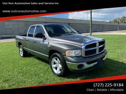 2005 Dodge Ram Pickup 1500 for sale at Out Run Automotive Sales and Service Inc in Tampa FL