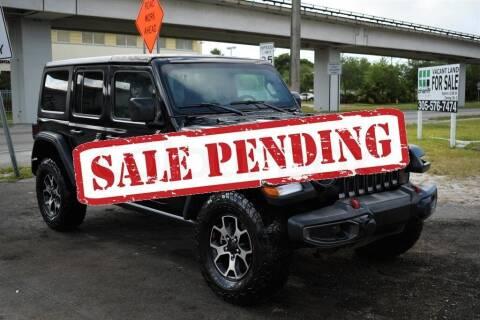 2020 Jeep Wrangler Unlimited for sale at STS Automotive - Miami, FL in Miami FL