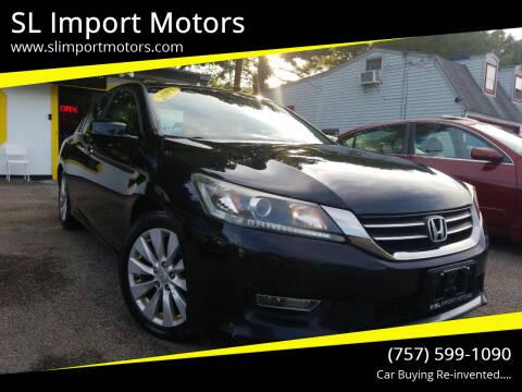 2013 Honda Accord for sale at SL Import Motors in Newport News VA