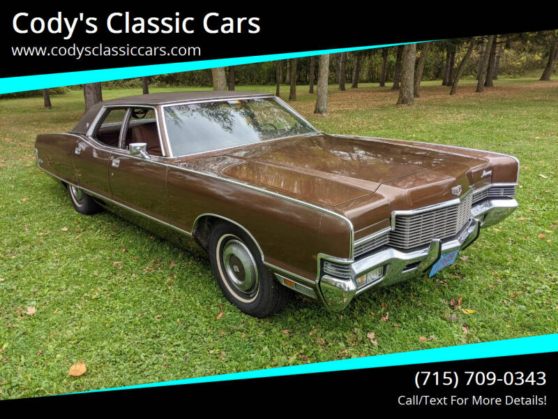 1971 Mercury Marquis for sale at Cody's Classic Cars in Stanley WI