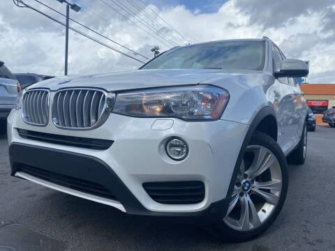 2016 BMW X3 for sale at LATINOS MOTOR OF ORLANDO in Orlando FL