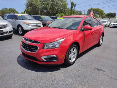 2015 Chevrolet Cruze for sale at Bargain Auto Sales in West Palm Beach FL