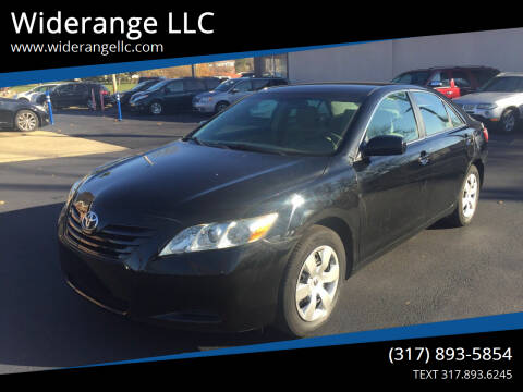 2009 Toyota Camry for sale at Widerange LLC in Greenwood IN