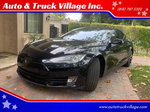 2015 Tesla Model S for sale at Auto & Truck Village Inc. in Van Nuys CA