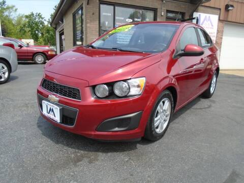 2012 Chevrolet Sonic for sale at IBARRA MOTORS INC in Cicero IL