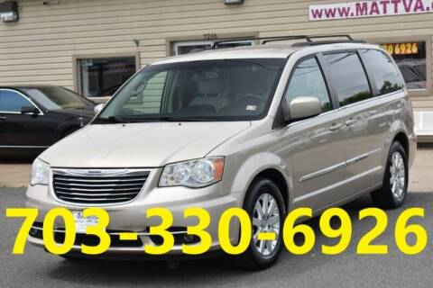 2013 Chrysler Town and Country for sale at MANASSAS AUTO TRUCK in Manassas VA