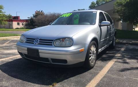 2003 Volkswagen Golf for sale at Peak Motors in Loves Park IL