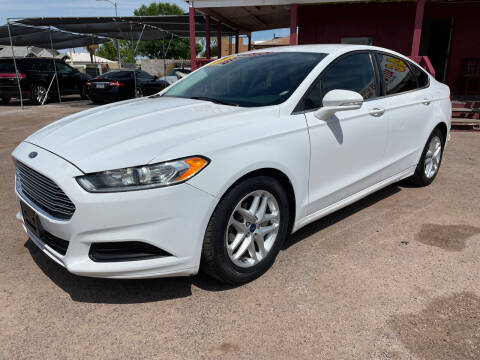 2014 Ford Fusion for sale at Fast Trac Auto Sales in Phoenix AZ