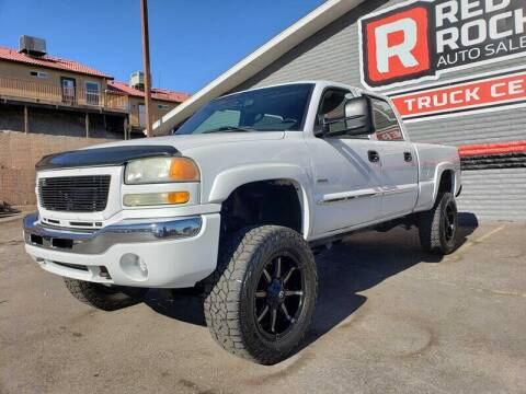 2004 GMC Sierra 2500HD for sale at Red Rock Auto Sales in Saint George UT