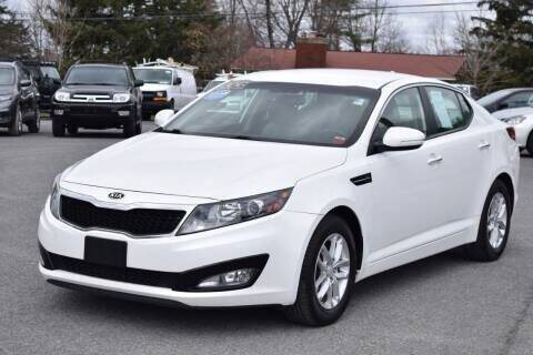 2012 Kia Optima for sale at Broadway Motor Car Inc. in Rensselaer NY