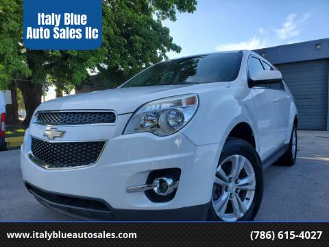 2013 Chevrolet Equinox for sale at Italy Blue Auto Sales llc in Miami FL