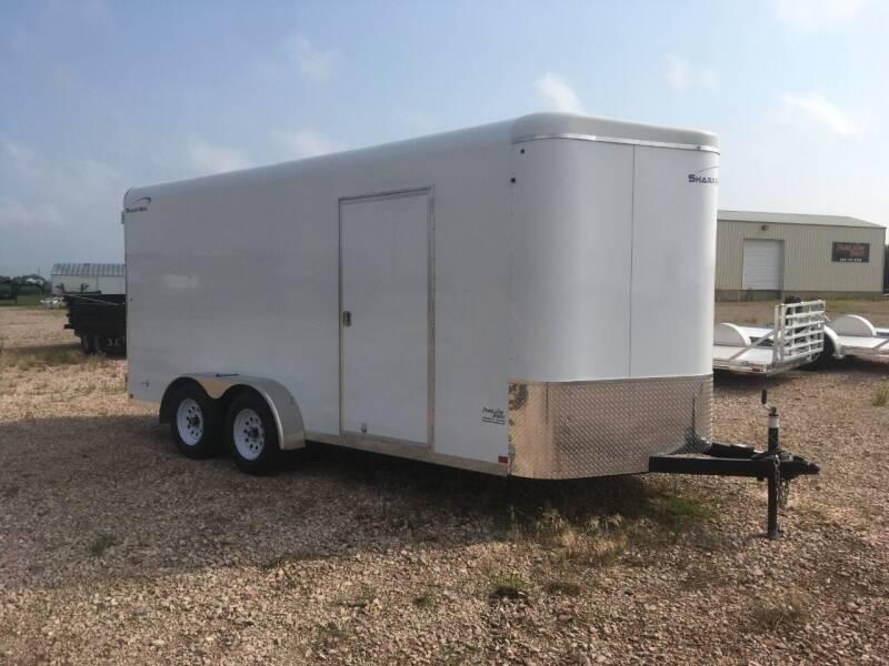 2021 Sharp MFG TA Series 7x16 V-Nose #0598 for sale at Prairie Wind Trailers, LLC in Harrisburg SD