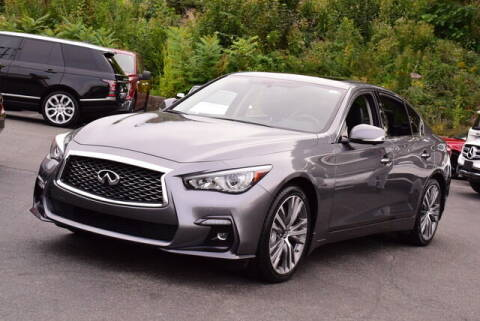 2019 Infiniti Q50 for sale at Automall Collection in Peabody MA