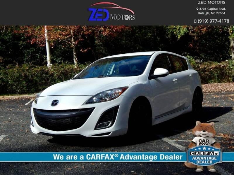 2011 Mazda MAZDA3 for sale at Zed Motors in Raleigh NC