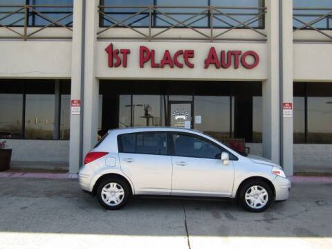 2012 Nissan Versa for sale at First Place Auto Ctr Inc in Watauga TX
