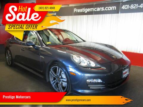 2011 Porsche Panamera for sale at Prestige Motorcars in Warwick RI
