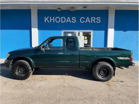 1999 Toyota Tacoma for sale at Khodas Cars in Gilroy CA