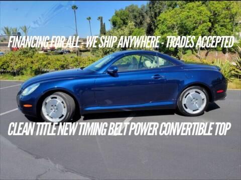 2003 Lexus SC 430 for sale at Auto Advantage in Escondido CA