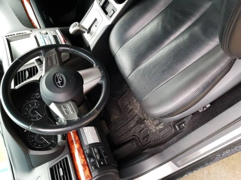 2010 Subaru Outback for sale at MARVIN'S AUTO BODY in Farmington ME