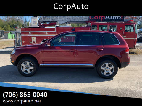 2004 Volkswagen Touareg for sale at CorpAuto in Cleveland GA