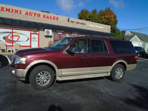 2010 Ford Expedition EL for sale at Gemini Auto Sales in Providence RI