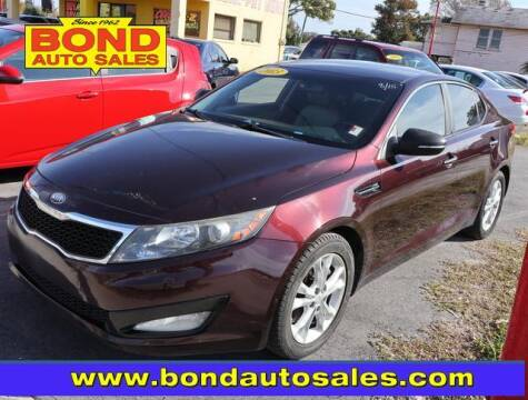 2013 Kia Optima for sale at Bond Auto Sales in St Petersburg FL